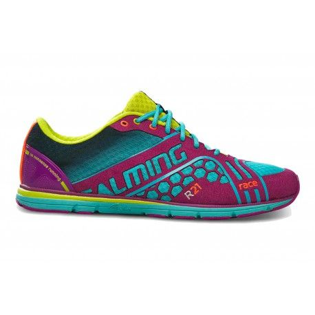 Běžecké boty Salming Race 3 Women Turquoise/Purple.