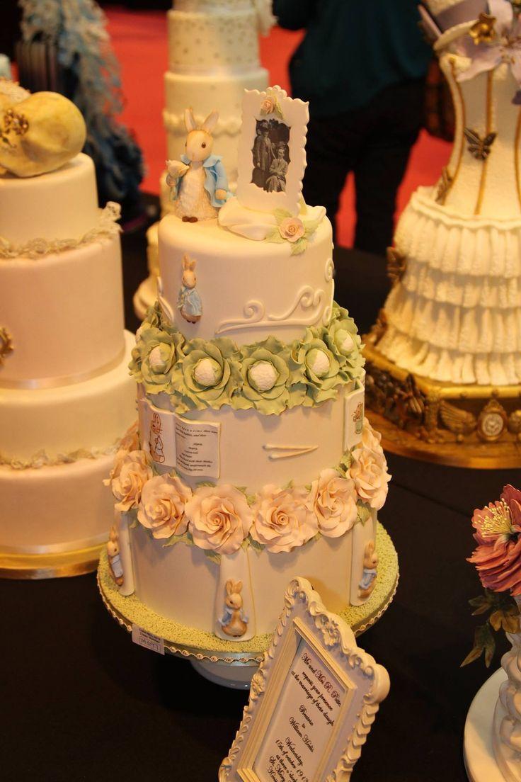 Fantastiska tårtor på Cake International, Birmingham 2014. Är det du som åker med nästa år?