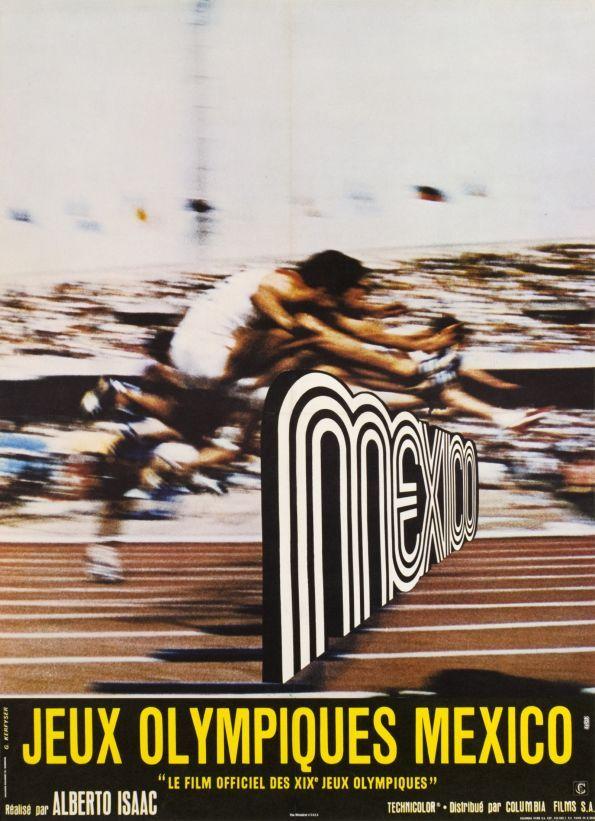 Jeux Olympiques Mexico, Le film officiel