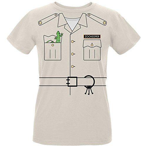 Halloween Zookeeper Costume Womens Organic T Shirt Natura...