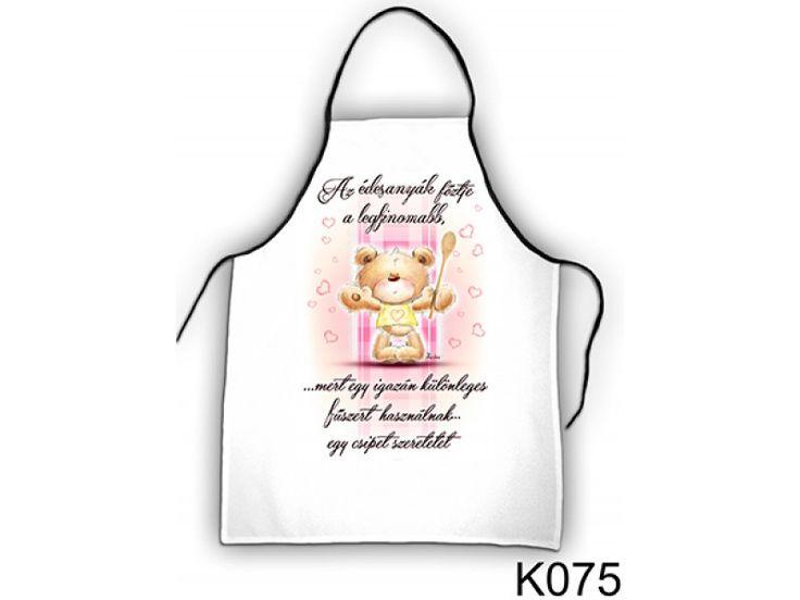 Kötény - Az édesanyák főztje - Ajándék anyukáknak