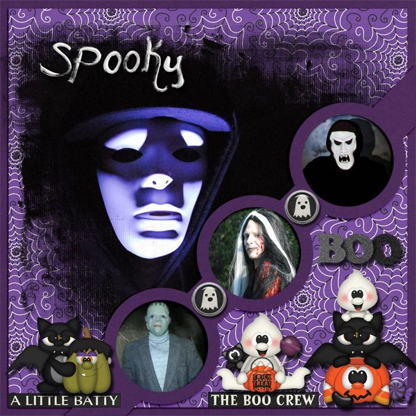 Just a few photos of some of our spooky Halloween costumes. Creatures of the Night Kit by BoomersGirl Designs http://store.gingerscraps.net/BoomersGirl-Designs/ Jammin Friends GDS collab template by Lissy Kay Designs  http://www.godigitalscrapbooking.com/shop/index.php?main_page=index&cPath=129