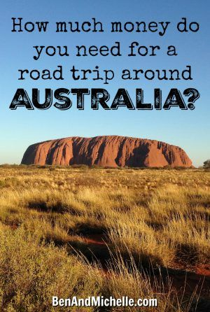 The Money Post - we've decided we'll be really upfront about what it's costing us to spend six months travelling around Australia, in the hope that it will help others to do the same.