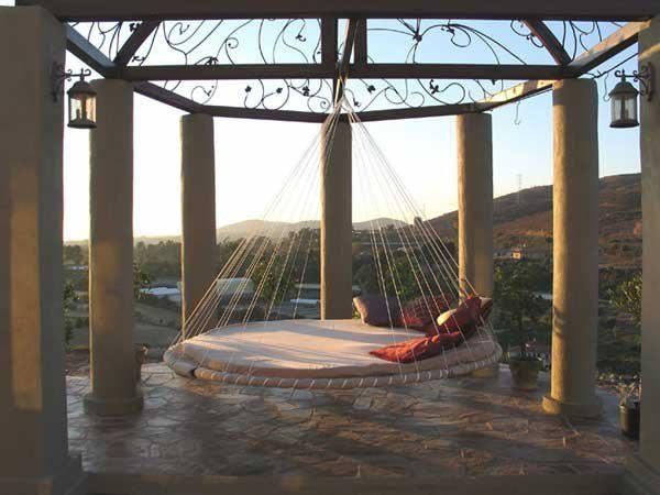1000 ideas about trampoline swing on pinterest hammock for Trampoline porch swing