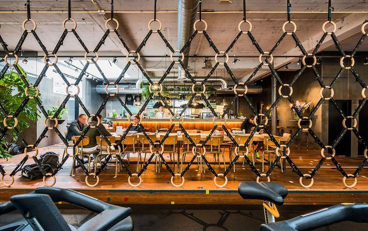 De Vondelgym Amsterdam designed by TANK