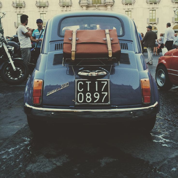 Fiat 500 original with BackPack