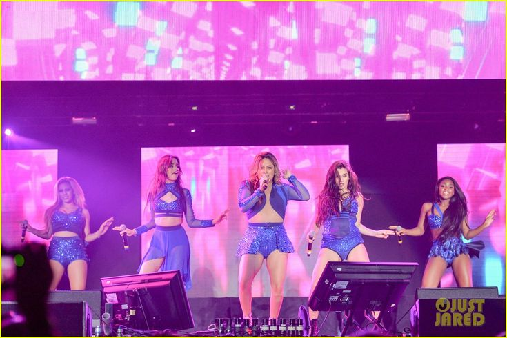 Fifth Harmony Perform at Grand Slam Party Latino After Break Up Comments Surface