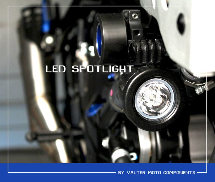 LED SPOTLIGHTS SUZUKI SV650 Special Bike by #valtermotocomponents #madeinitaly #followus #suzukimotor #sv650 #specialparts #preciselygrafted #preciselycraftedacademy #ergal #EICMA20169
