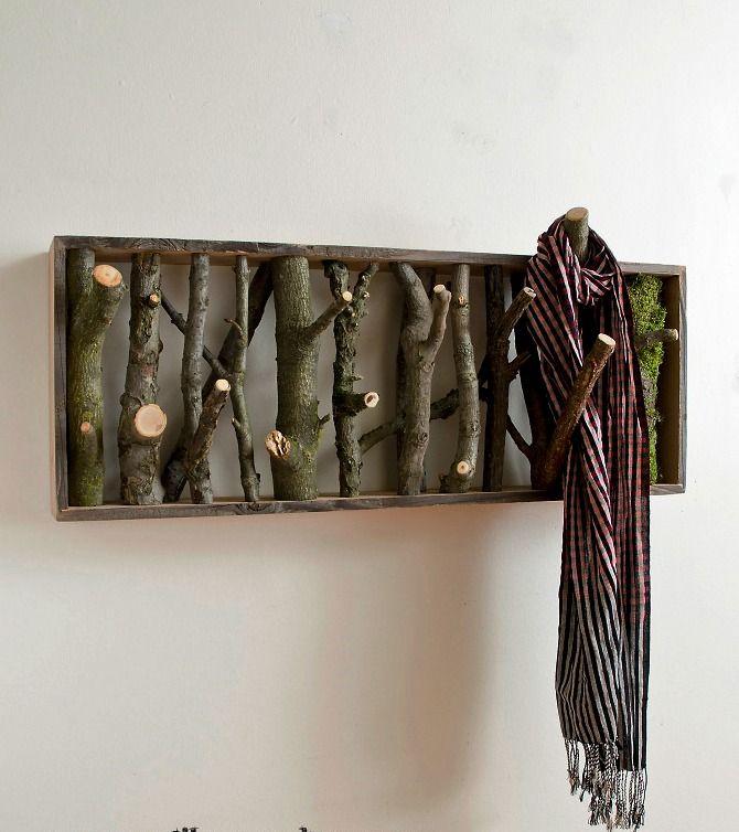 «Прогулка по лесу, не выходя из дома»: 21 идея эко-декора интерьера - Ярмарка Мастеров - ручная работа, handmade
