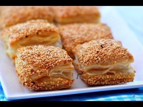 Milföyden 5 Dakikada  Çıtır  Simit  Börek