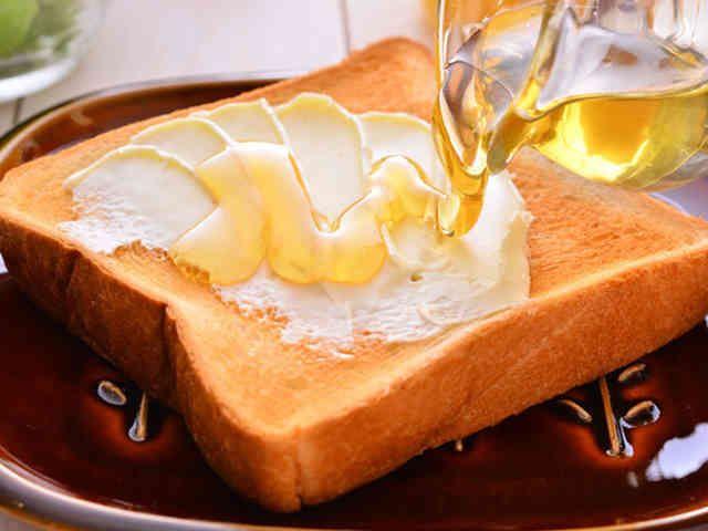 ハニークリームトーストの画像
