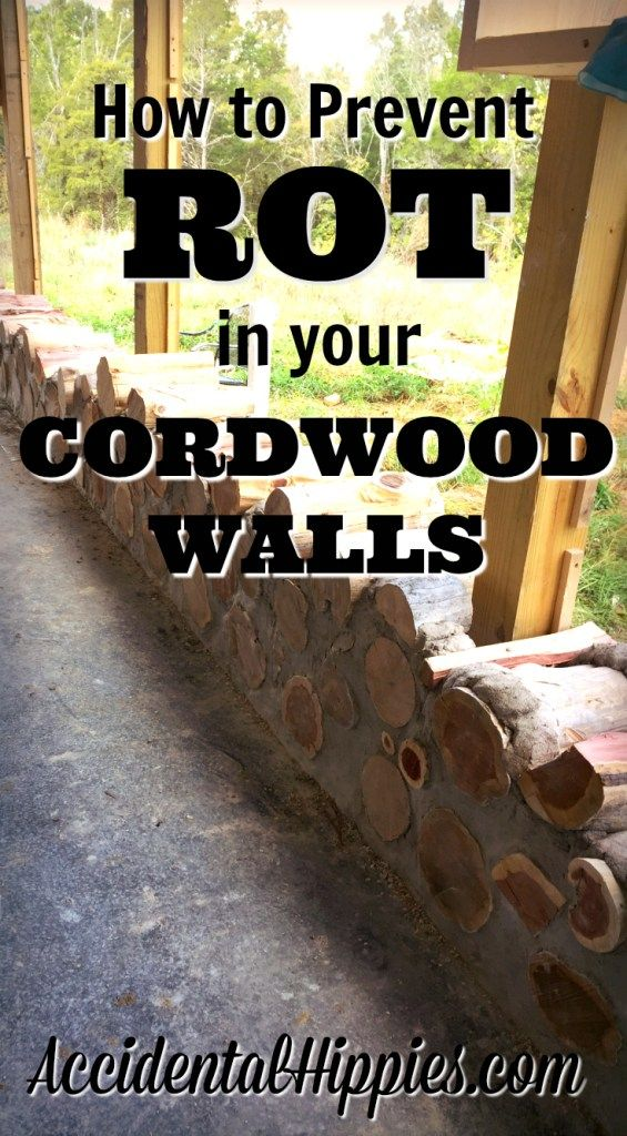 Common cordwood myths say that you can't mix wood and concrete because it will rot. But will it? Follow these 9 tips to avoid rot in your cordwood build