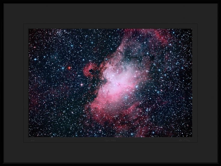 Photo Eagle Nebula Messier 16 by Mike O'Day on 500px
