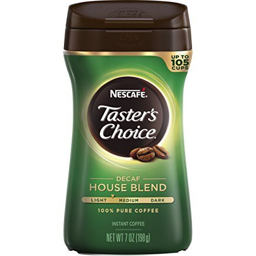 Nescafe Taster's Choice  House Blend Decaf Instant Coffee, 7 Ounce Canister ** Be sure to check out this helpful article.