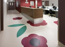 Gerflor's Mipolam Symbioz is a highly flexible homogeneous compacted sheet floor covering providing excellent resistance to wear in high traffic areas.