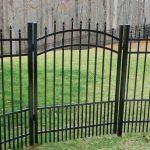 Aluminum Fence Gates  Most fences need at least one gate. Whether you are installing a pool fence, commercial or residential fencing, you can find the perfect fence and gate combination here at Aluminum Fences Direct.