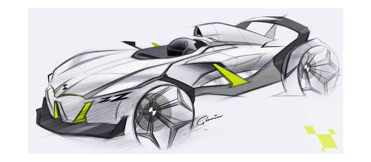 BMW single-seater sketch