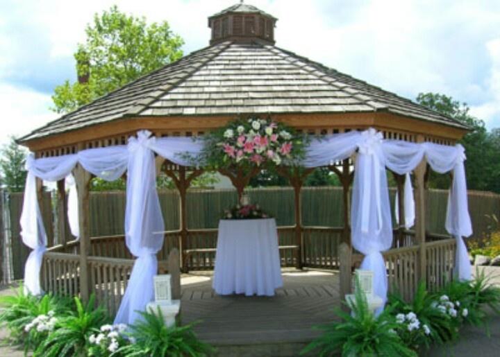 Simple Wedding Gazebo Decorations : Gazebo vhuppah formal wedding decor