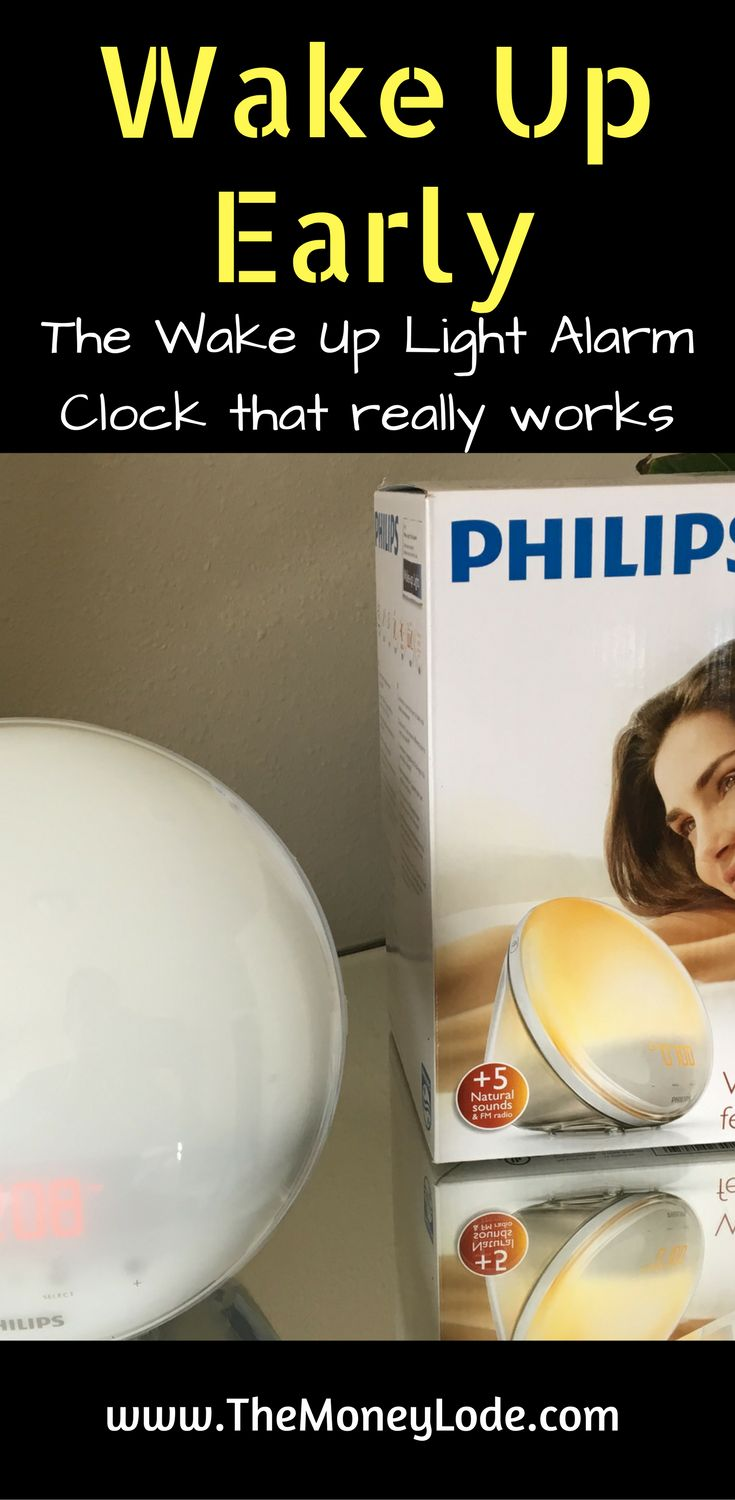 Video review and blog post about the Philips HF3520 Wake-up Light Alarm Clock