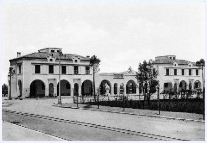 piazza del quadrato 1933