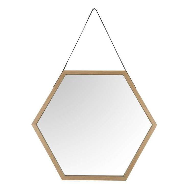 74 best miroirs images on pinterest art of living for Miroir hexagonal