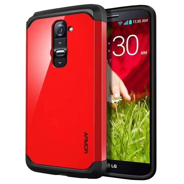 Θήκη Πλαστική Armor Case OEM Κόκκινο (LG G2) - myThiki.gr - Θήκες Κινητών-Αξεσουάρ για Smartphones και Tablets - Χρώμα κόκκινο
