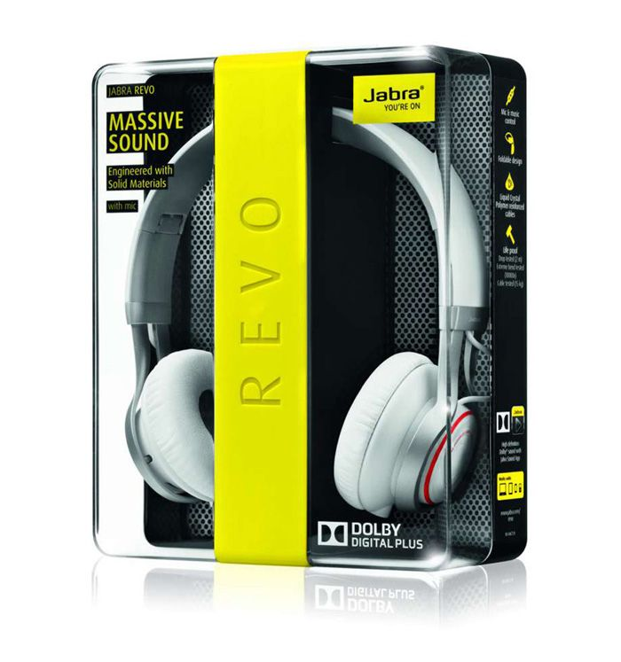 Jabra Revo - The Dieline PD