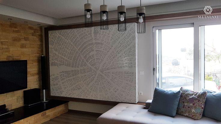 ΔΙΑΤΡΗΤΗ ΕΠΕΝΔΥΣΗ ΤΟΙΧΟΥ  Wall covering made of perforated aluminium. Innovative Architectural Products. Life is in the details. www.metalaxi.com
