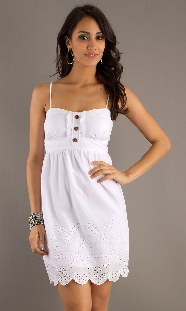 1000  images about White Summer Dress on Pinterest - Casual shorts ...