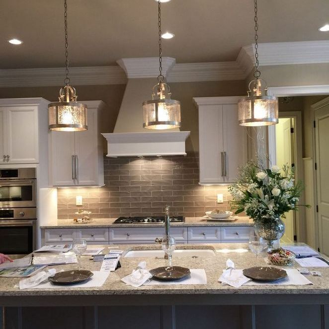 36 Most Popular Ways To Gold Kitchen Lighting Ideas Thehomedecores Kitchen Island Lighting Farmhouse Kitchen Lighting Island Lighting Farmhouse
