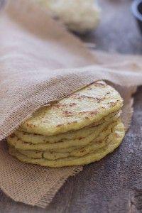Recipe For  Cauliflower Tortillas Paleo Grain Free Gluten Free