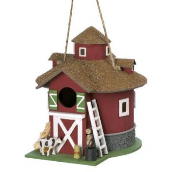 Barnyard Birdhouse Manufacturer: Home Locomotion SBEX14779 $24.20