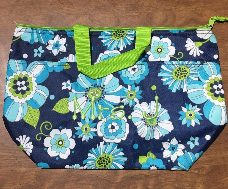 Thirty One Floral Celebration Insulated Lunch Tote Bag Very Hard to Find | eBay