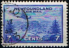 Newfoundland 1943 Air Mail Fine Used SG 291 Scott C19 Other North American and British Commonwealth Stamps HERE!