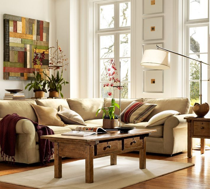 Pottery Barn Rooms: Pottery Barn Living Room