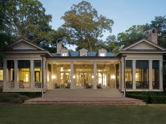GREEK REVIVAL RESIDENCE  Spring Island   by Historical Concepts