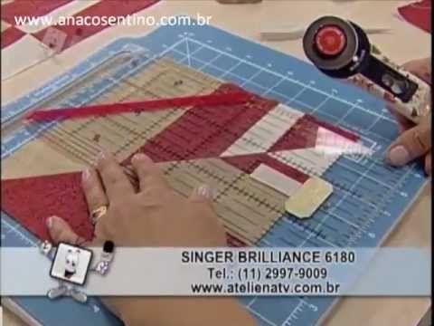 Patchwork Ana Cosentino: Bolsa Sofia (Ateliê na TV 10/12/12)