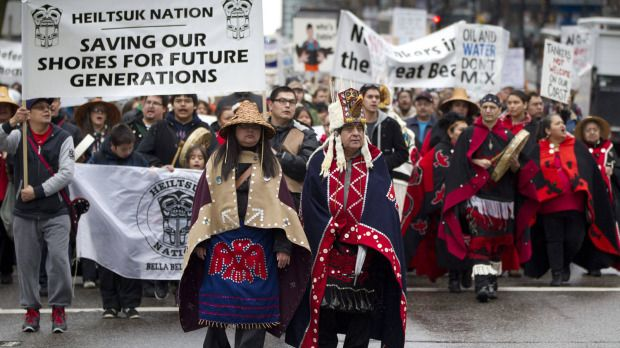 The Heiltsuk Nation will take any action necessary to ensure the Coastal First Nations declaration is enforced.
