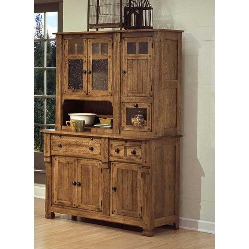 Rustic Oak Kitchen Cabinets: Décor – Furniture On Pinterest