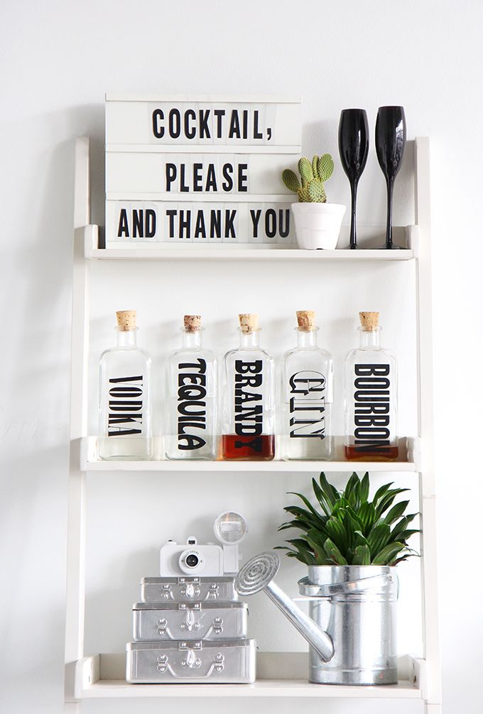 DIY Light Box Message Board