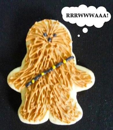 Star Wars cookie! Easy! Will have to do this for my boys (and my man) :)
