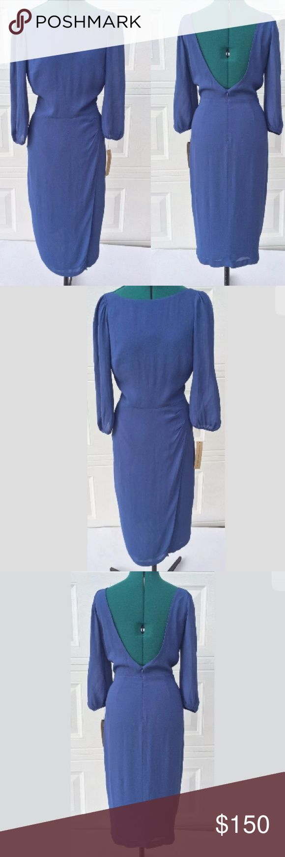 "Womens Reformation Dress Sz 6 Blue Lo Back NO TRADES🎀🎀🎀PRICE FIRM, Anything Less Than Asing Price Will Be Ignored Measured Flat • 42"" Long • 13"" Waist • 16"" Chest • 17"" Shoulder Reformation Dresses"