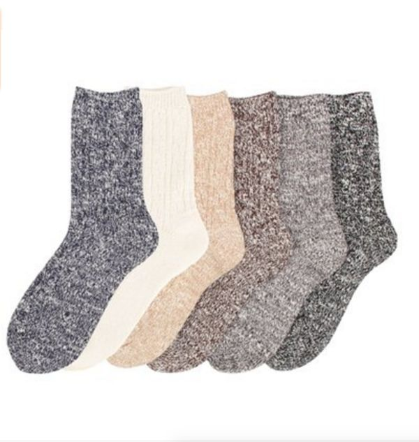 Warm up with a pair of wool socks this winter