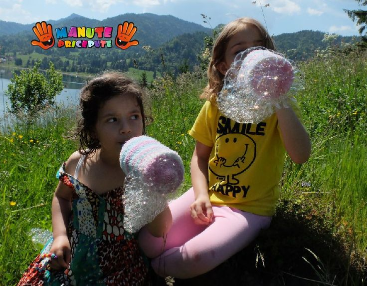 Jocuri copii - Baloane mari de sapun