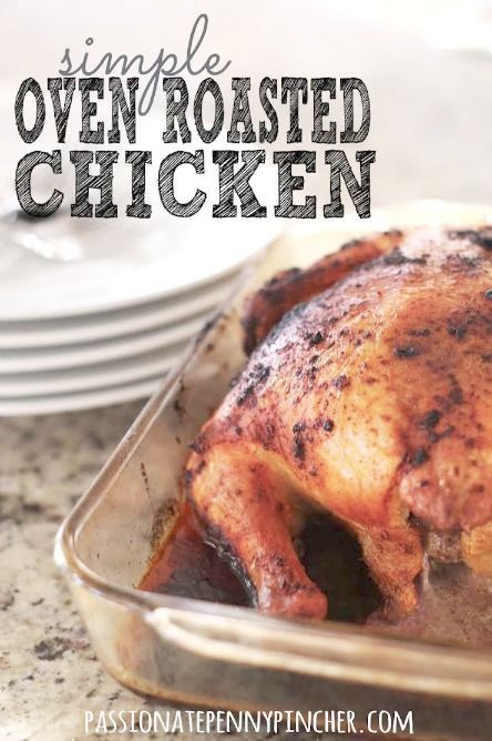 EASY: How To Cook Whole Chicken. You can do this and it tastes so good (+ great prices on whole chicken this week!)