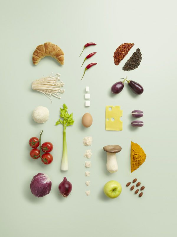 Wouldn't it be a fun exercise in mindfulness, to keep a daily food photo diary? Styling by Sonia Rentsch