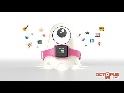 JOY FAMILYTECH | Octopus by JOY, the first icon-based watch™ that empowers kids