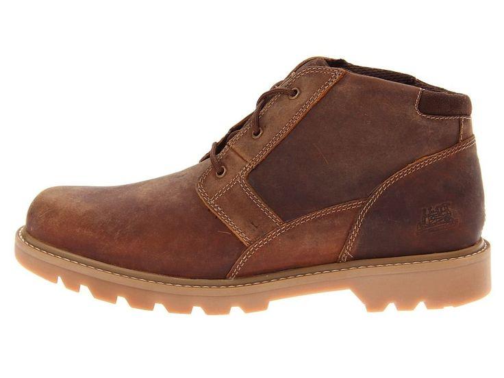 Caterpillar Graft Men's Work Boots Dark Beige #ShoesForMen