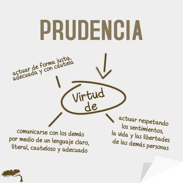 Prudencia, virtud que todos deberíamos tener para hacer de nuestro mundo un lugar mejor.