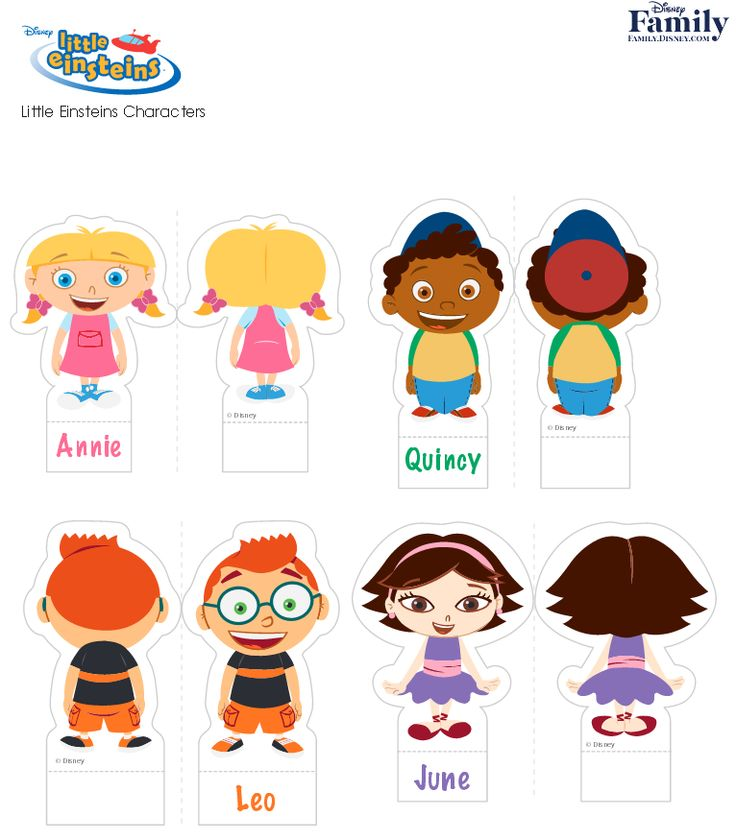 17 Best Images About Little Einsteins Printables On